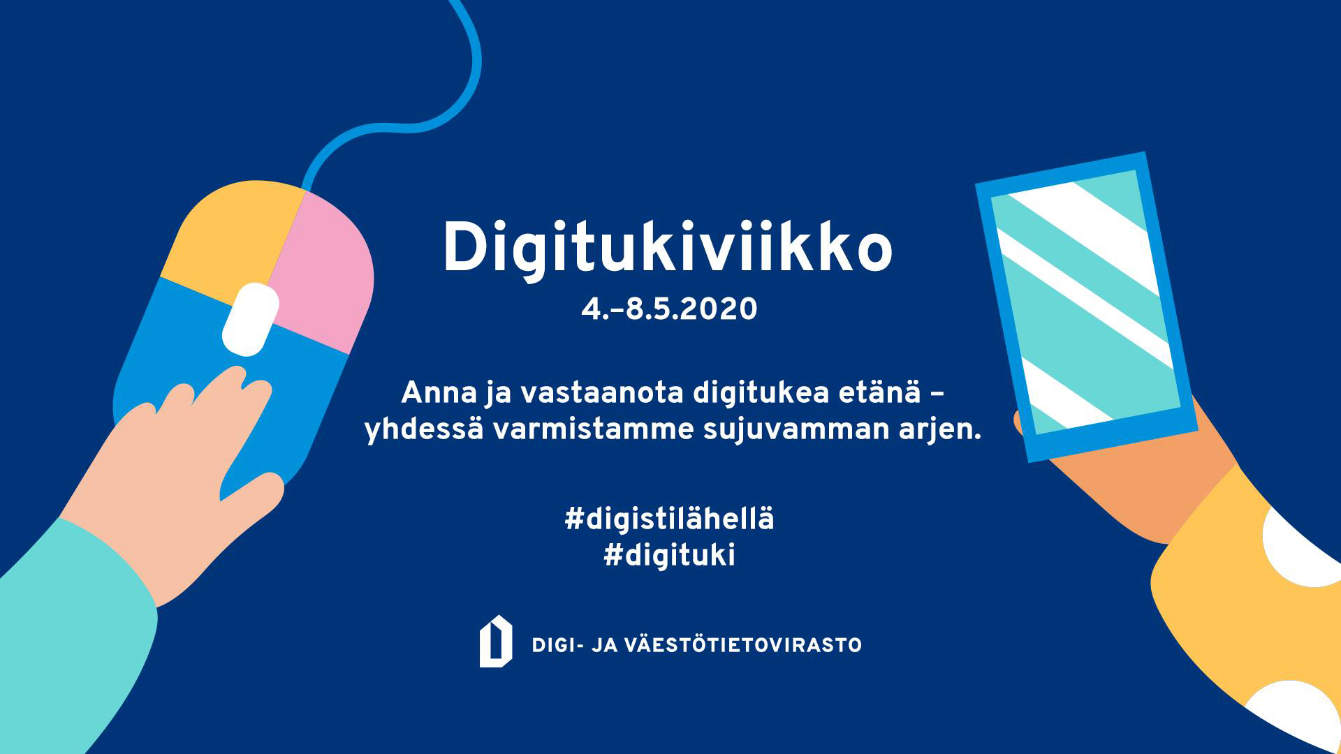 Digitukiviikon mainosbanneri.